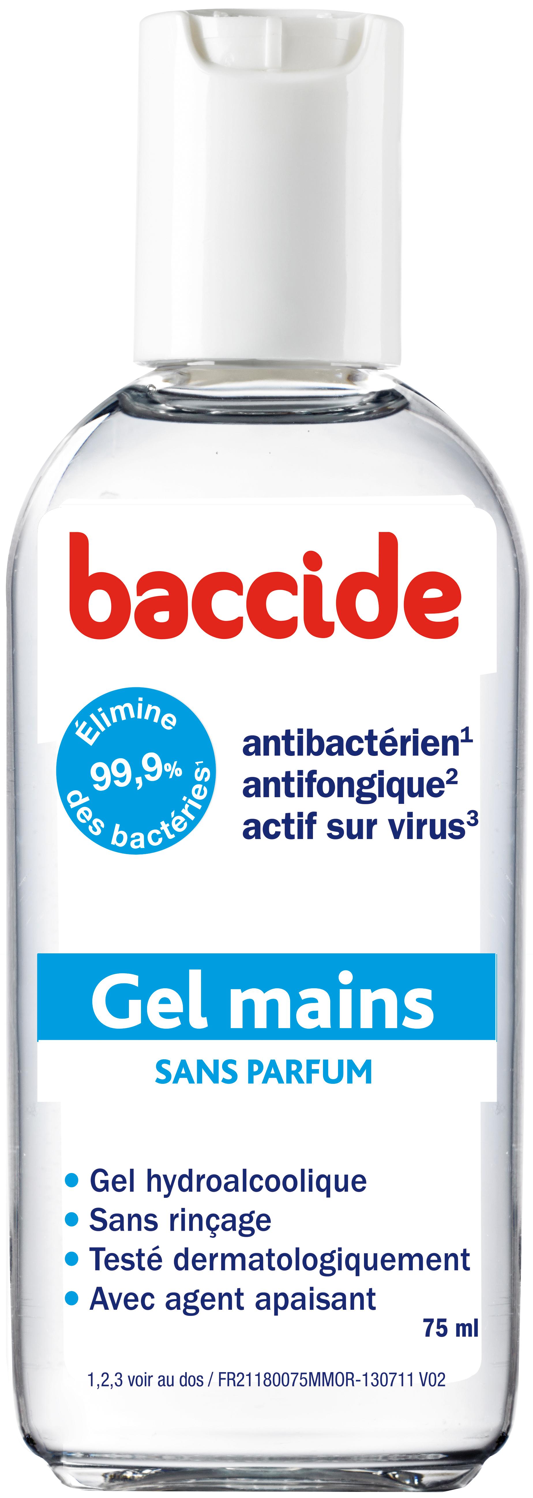 Desinfectant Main Baccide Gel Hydroalcoolique Mains Pour Peaux